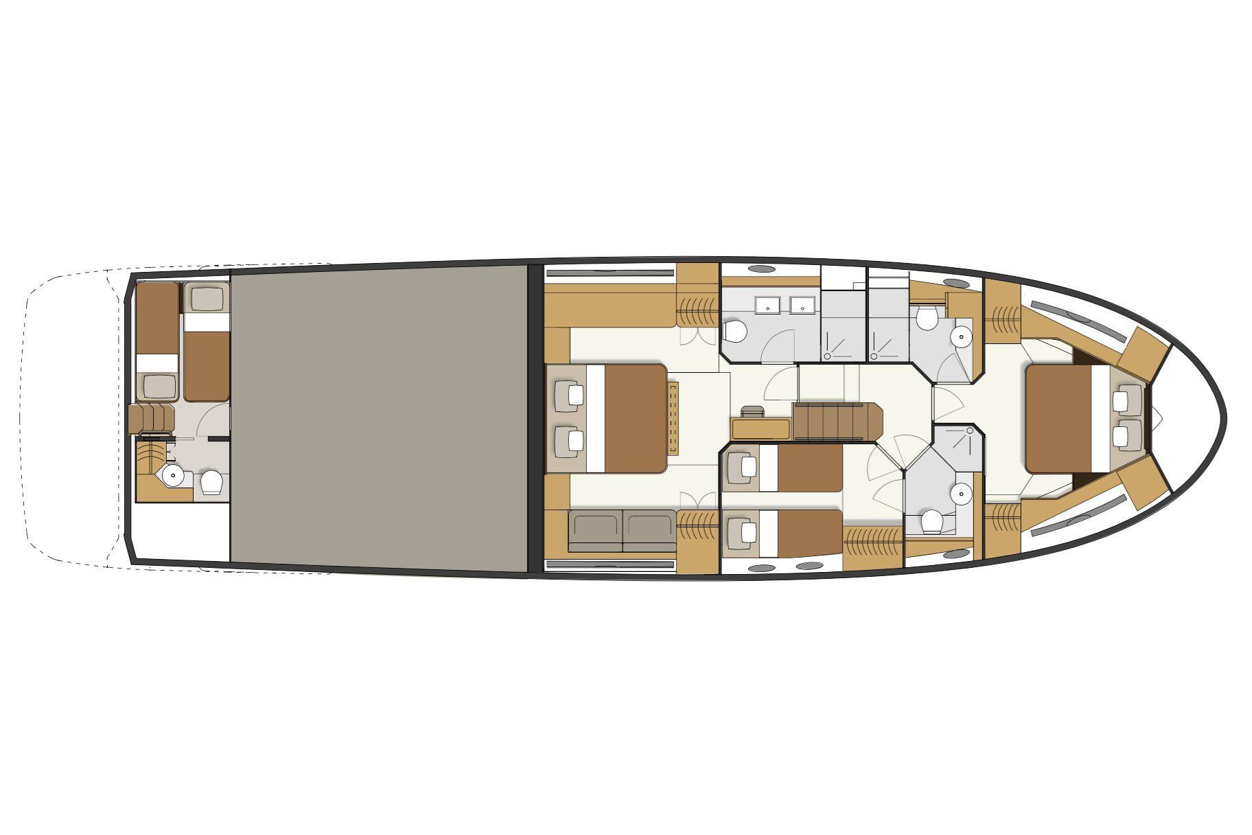 Layout-lower-deck-Greenline-65-Oceanclass